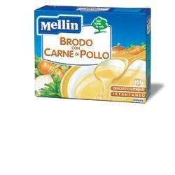 MELLIN BRODO CARNE POLLO 10 BUSTINE X 5