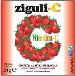 ZIGULI C FRAGOLA 40 CONFETTI 24