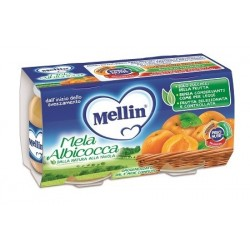 MELLIN OMOGENEIZZATO MELA/ALBICOCCA 100 G 2