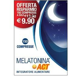 MELATONINA ACT 1 MG 150