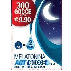 MELATONINA ACT GOCCE 15