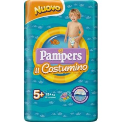 PAMPERS COSTUMINO CP 10 TG 5+ TG 5+ 10