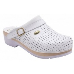 CLOG S/COMF.B/S CE BYCAST BIS UNISEX WHITE WOODS BIANCO