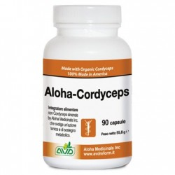 ALOHA CORDYCEPS 90 CAPSULE FLACONE 55,8