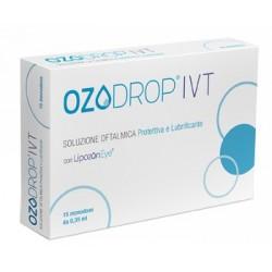 OZODROP IVT SOLUZIONE OFTALMICA BASE DI OLIO OZONIZZATO IN FOSFOLIPIDI 15 FLACONCINI MONODOSE DA 0,35