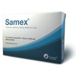 SAMEX 24 COMPRESSE DEGLUTIBILI A RILASCIO