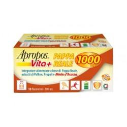 APROPOS VITA+ PAPPA REALE 1000MG 10 FLACONCINI DA 10