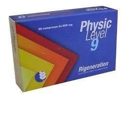 PHYSIC LEVEL 9 RIGENERATION 30 COMPRESSE 500