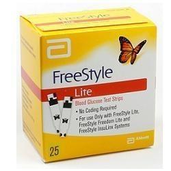 FREESTYLE LITE 25 STRISCE MISURAZIONE GLICEMIA