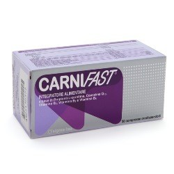 CARNIFAST 30 COMPRESSE ORODISPERSIBILI