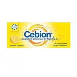 CEBION EFF VIT C LIMONE 10 COMPRESSE