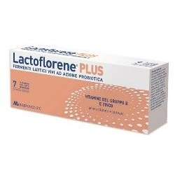 LACTOFLORENE PLUS 7 FLACONCINI 10 ML