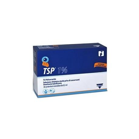 TSP 1% SOLUZIONE OFTALMICA UMETTANTE LUBRIFICANTE 30 FLACONCINI MONODOSE 0,5 ML