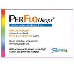 PERFLO DROPS GOCCE OCULARI 10 FIALE MONODOSE
